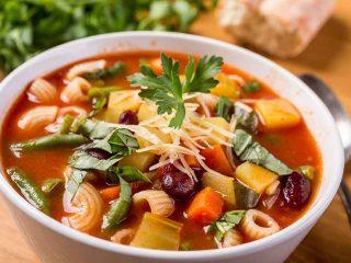 chuncky gluten free vegetable soup