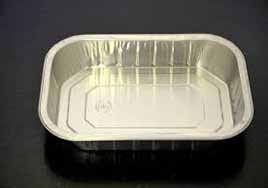 foil tray used to ship gluten free food