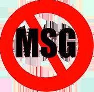 no monosodium glutamate