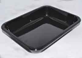 CPET tray for packing gluten free food